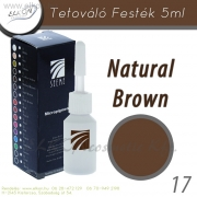 TETOVÁLÓ FESTÉK 5ml. NATURAL BROWN- ELKON - See Me