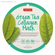 PureDerm Green Tea maszk circle - ALVEOLA